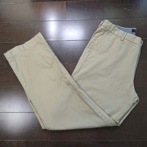 Banana Republic | Khaki Flat Front Pants